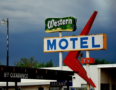 I love old motel signs that are reminiscent of the 1950s when families traveled by car all over the United States for vacation.  Route 66 is probably the most famous, but motels like this are found all over America and even though many are still in operation, they are quickly becoming obsolete.  Therefore, I want to capture them before they are gone.