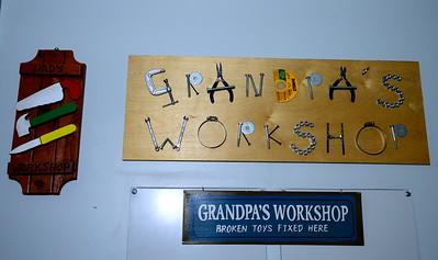 Grandpa's Workshop!