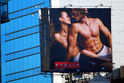 Billboard in Buenos Aires