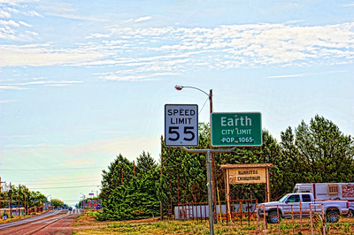 Entering Earth.............Texas, that is.