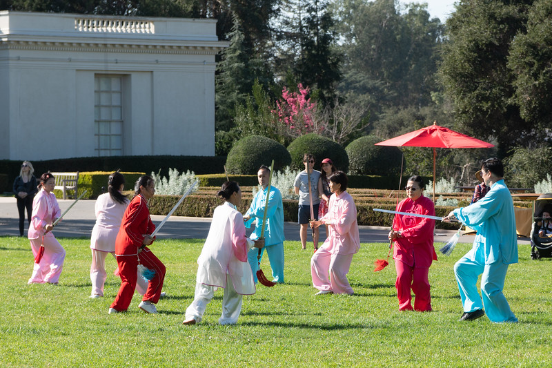 Washu performance at the Huntington Library and Botanical Gardens