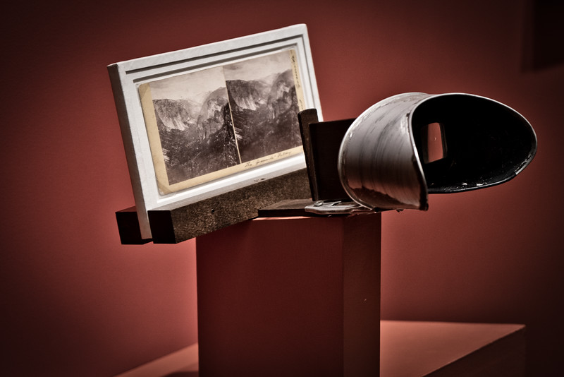 Photographs of Yosemite made by Carleton E. Watkins using a twin-lens stereographic camera