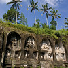 BALI. GUNUNG KAWI. FOUR ROCK-CUT CANDI (SHRINES).