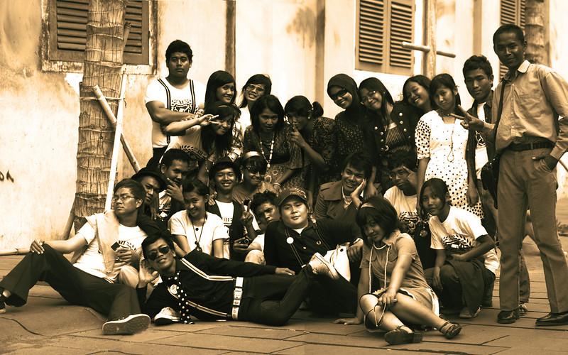 JAKARTA TEENAGERS. KOTA. JAKARTA.