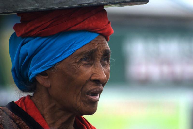 BEDUGUL LADY. BALI. INDONESIA.