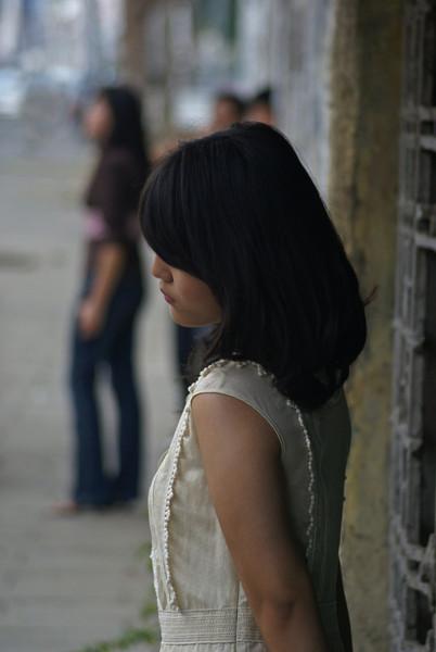 JAKARTA MODEL POSING IN FRONT OF VIRGIN CLUB. KOTA. JAKARTA. INDONESIA [2]