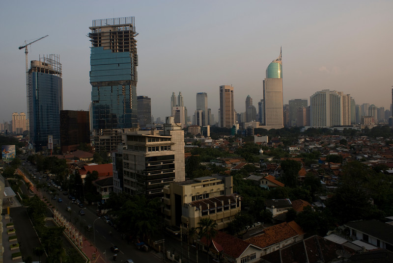 MODERN JAKARTA. JAVA. INDONESIA.