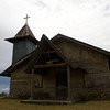 CHRISTIAN CHURCH. SAMOSIR ISLAND. LAKE TOBA. DANAU TOBA. SUMATRA. INDONESIA.