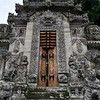 BALI. PURA KEHEN TEMPLE. ENTRANCE DOOR.