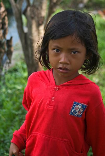 BALINESE GIRL. BALI. INDONESIA.