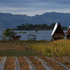 Indonesia - Samosir Island Lake Toba - Sumatra BATAK HOUSE