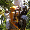 BALINESE MASS CREMATION CEREMONY.  SIANGAN. BALI.