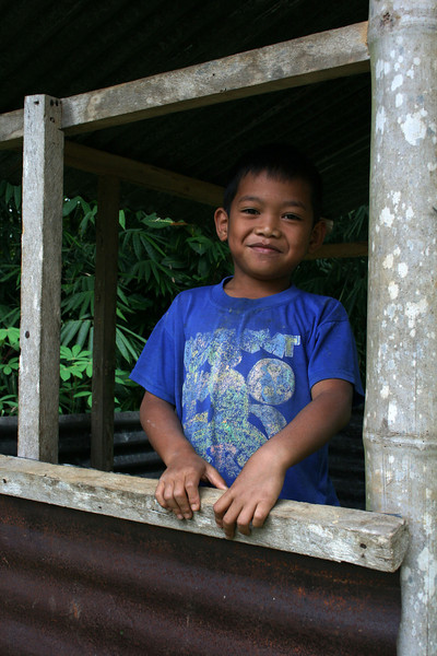 BOY IN TANA TORAJA. SULAWESI. INDONESIA.