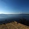 FLORES. WATUMITA. VIEW AT SEA. INDONESIA.