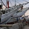 PELABUHAN SUNDA KELAPA. SHIPS IN THE OLD HARBOUR. JAKARTA. JAVA. INDONESIA.