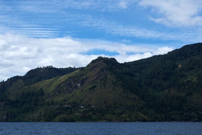 LAKE TOBA. DANAU TOBA. SUMATRA. INDONESIA.