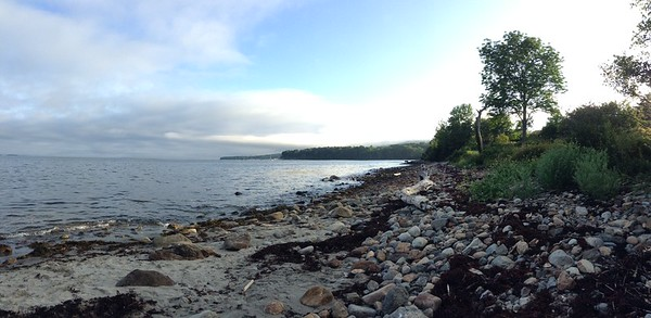 iPhone Panoramic Landscape of Midcoast Maine