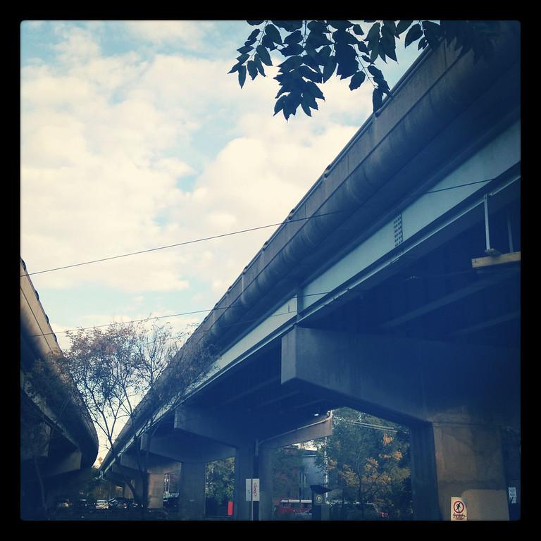 Under Eastern Ave, Toronto
