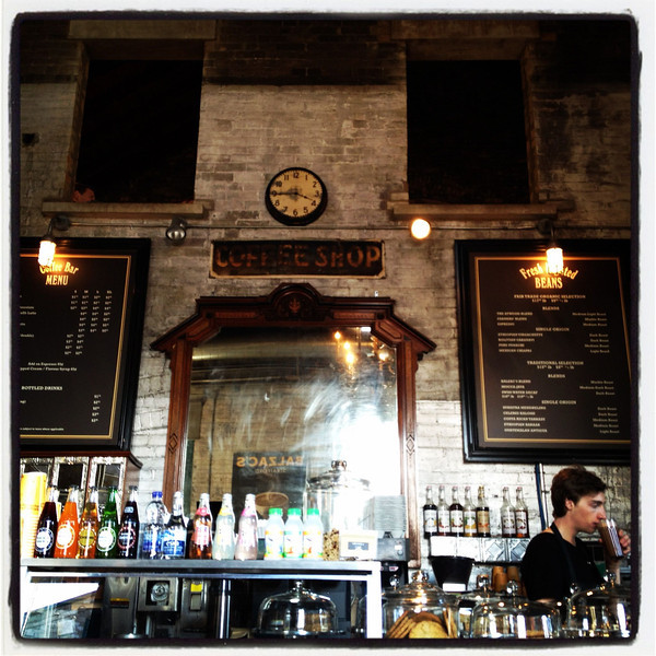 Balzac's, Distillery District, Toronto