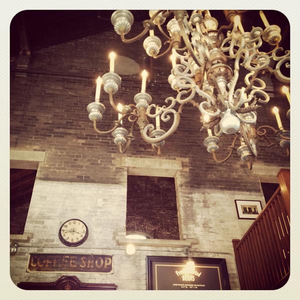 Balzac's magnificent chandelier, Distillery District, Toronto