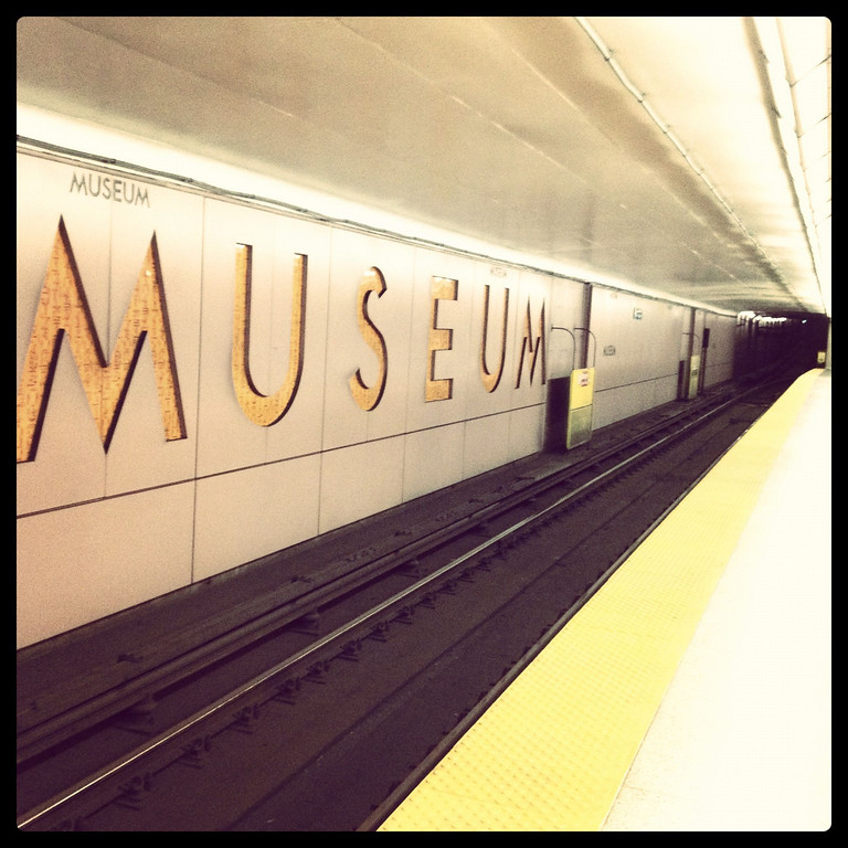 Museum stop, Subway, Toronto