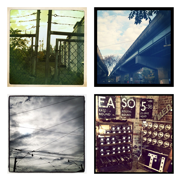 My Toronto Day of Adventure Instagram collage