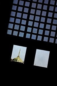 Mosque Window View