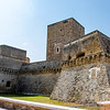 The Castello Svevo in Bari in Apulia, Italy - Europe