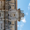 Facade of Lecce cathedral in Lecce, Apulia, Italy - Europe