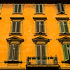 ROMA. YELLOW HOUSE.