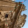 Facade of the Basicila cathedral di S. Agata V.M. in Gallipoli, Puglia, Italy