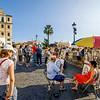 ROME. STREET ARTIST.