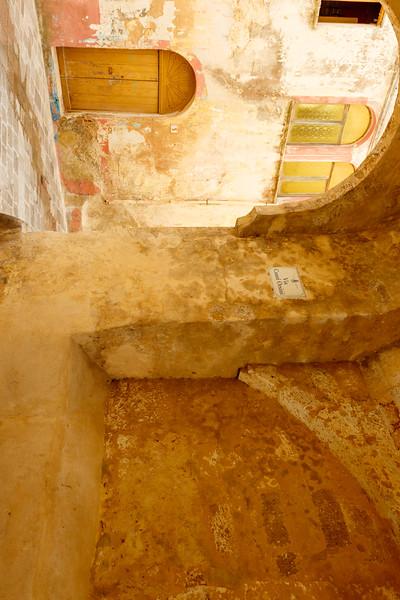 Narrow streets in the historic center of Ugento, Salento, Apulia, Italy - Europe