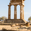 AGRIGENTO. VALLE DEI TEMPLI [TEMPLE VALLEY]. TEMPLE OF CASTOR AND POLLUX.