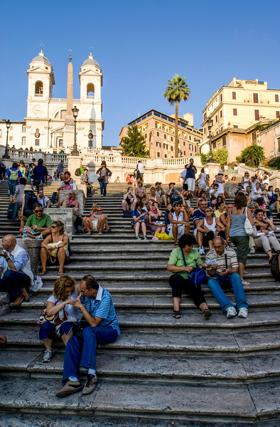 ROME. SPANISH STEPS.