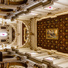 Rich decorated interior of the Lecce cathedral in Lecce, Apulia, Italy - Europe
