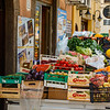 Vegetables for sale in a street in the old town of Cefalu, Sicily, Italy - Europe