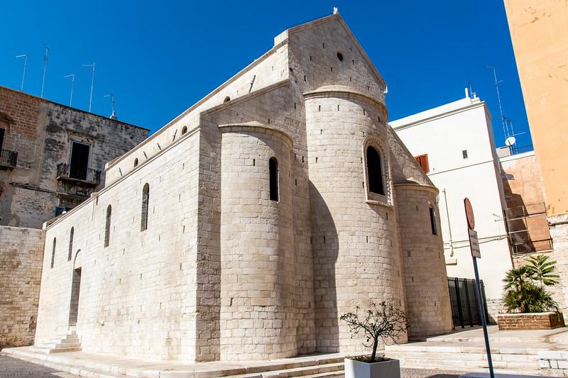 Chiesa di San Gregorio church in the old town of Bari in Apulia, Italy - Europe