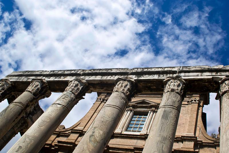 ROME. FORO ROMANO.