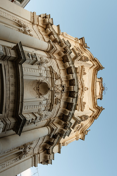 Exterior of the San Matteo Church in Lecce, Apulia, Italy - Europe