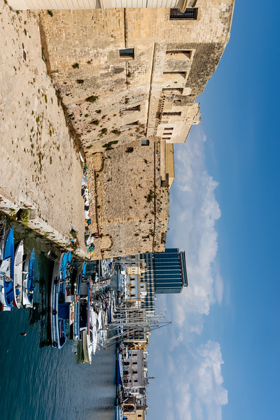 The old town of Gallipoli, Puglia, Italy