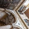 Interior of the Basicila cathedral di S. Agata V.M. in Gallipoli, Puglia, Italy