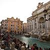 ROME. TREFI FOUTAIN.