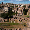ROMA. VIEW AT FORO ROMANO.
