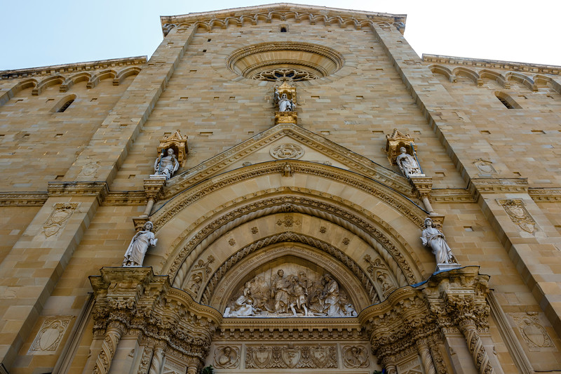 Duomo di Arezzo cathedral in the historic center of Arezzo, Tuscany, Italy, Europe