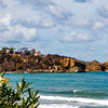 View at the coast and sea in Cefalu, Sicily, Italy - Europe