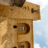 Exterior of the Ugento Castle (stello di Ugento) in Ugento, Apulia, Italy - Europe