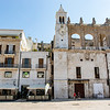Piazza Mercantile square in the old town of Bari in Apulia, Italy - Europe