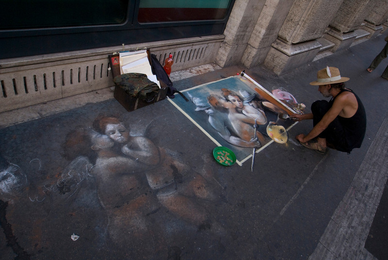 STREET ANGELS. STREET ARTIST.