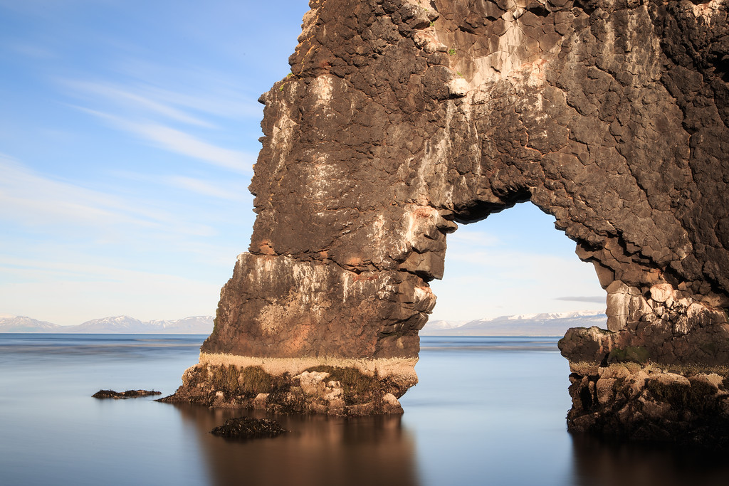 Hvítserkur by Sea